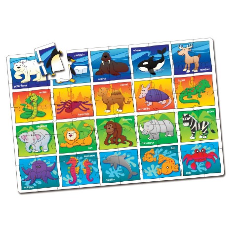 The Learning Journey Jumbo Floor Puzzles, 50pc - Animals - image 1 of 2