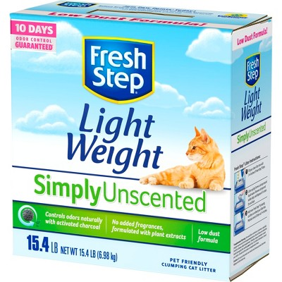 Cat Litter: Fresh Step Light Weight Simply Unscented