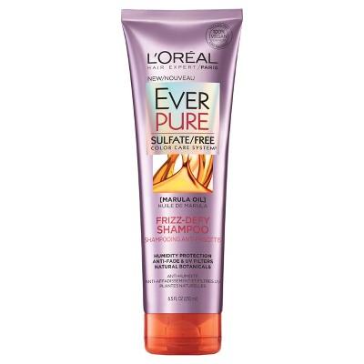 Shampoo & Conditioner: L'Oreal Paris EverPure Frizz-Defy