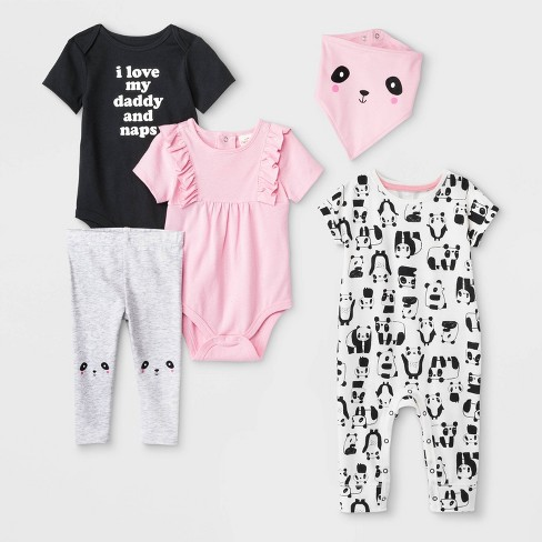 Baby Black Cat Bodysuits Rompers Outfits Summer Clothes,Long Sleeve