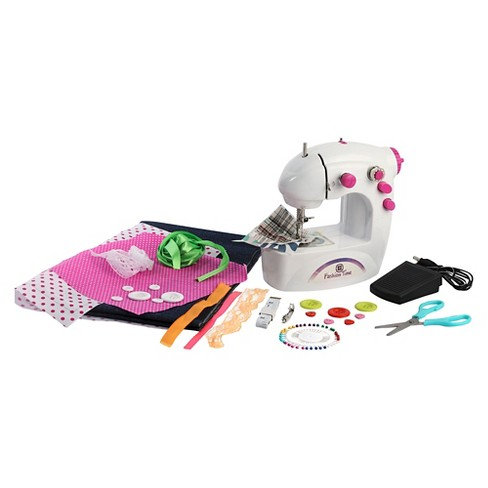 Amav Fashion Time Little Seamstress Denim Creations Sewing Machine - image 1 of 2