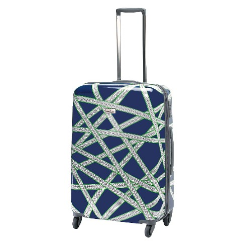 "Happy Chic by Jonathan Adler 25"" Hardside Spinner Suitcase - Navy/Green - image 1 of 5"