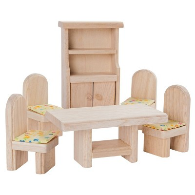 Plan Toys Classic Dollhouse Dining Room Furniture