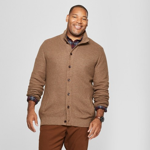 Men's Big & Tall Light Weight Button-Up Cardigan - Goodfellow & Co™ - image 1 of 3