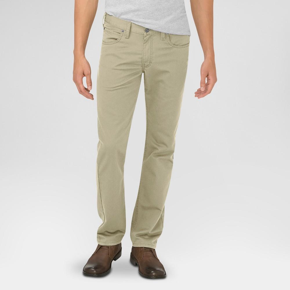 Dickies Men's Slim Fit 5-Pocket Pants Sand 34X30, Desert