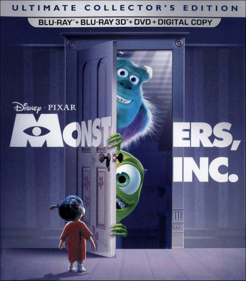 Monsters, Inc. [5 Discs] [Includes Digital Copy] [2D/3D] [Blu-ray/DVD] - image 1 of 1