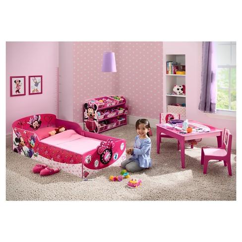 Disney Interactive Wood Toddler Bed Minnie Delta Children Target