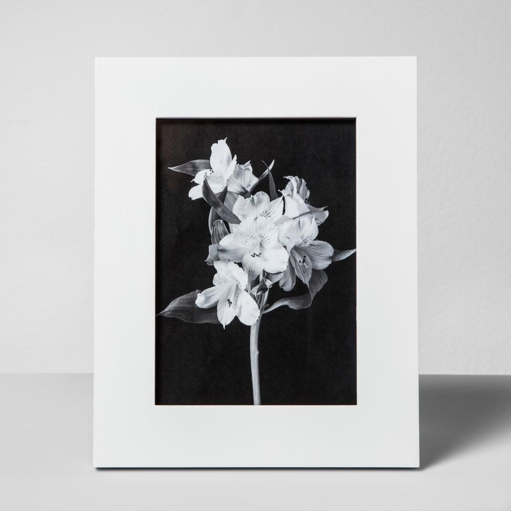 Wide Single Image Frame White5