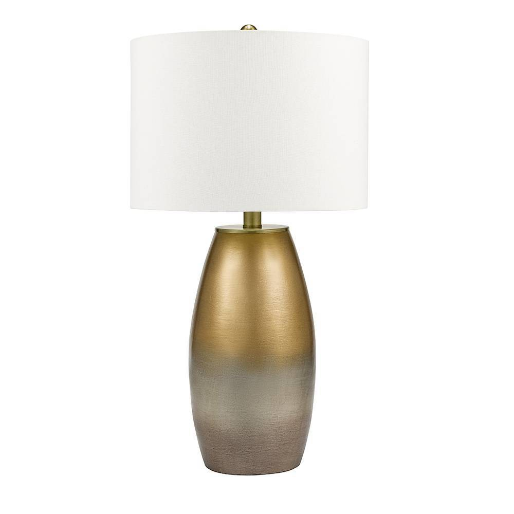 Amalia Table Lamp Silver (Includes Energy Efficient Light Bulb) - Cresswell Lighting