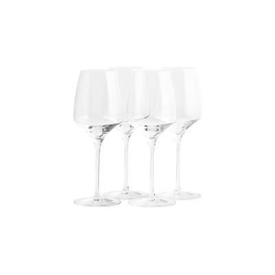 12.3oz 4pk Crystal Experience White Wine Glasses - Stoelzle