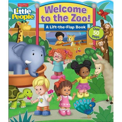 Fisher Price Little People Welcome To The Zoo Board Book Target