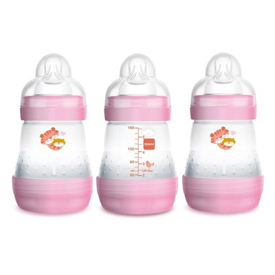 MAM Anti-Colic Bottle, 5oz, 3ct