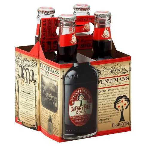 Fentimans Cherrytree Cola - 4pk/9.3 fl oz Glass Bottles - image 1 of 1