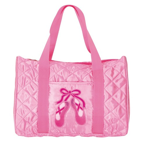 Girls' DansBagz by Danshuz Barrel Bag Pink - image 1 of 1