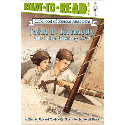 John F. Kennedy and the Stormy Sea - by  Howard Goldsmith (Paperback) - image 1 of 1
