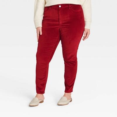 Women's High-Rise Velvet Skinny Jeans - Universal Thread™