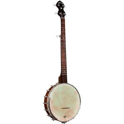 Gold Tone Cripple Creek Left-Handed Banjo Clawhammer Package Vintage Brown