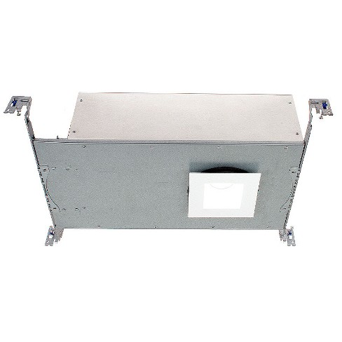 """WAC Lighting HR3S-ICS30F 3.5"""" Summit Square LED Recessed Trim and Housing for New Construction - IC Rated - image 1 of 1"""