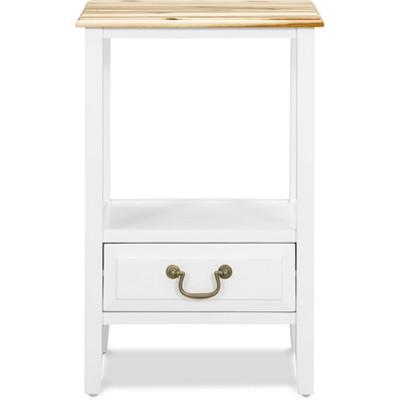 Harris End Table White - ClickDecor