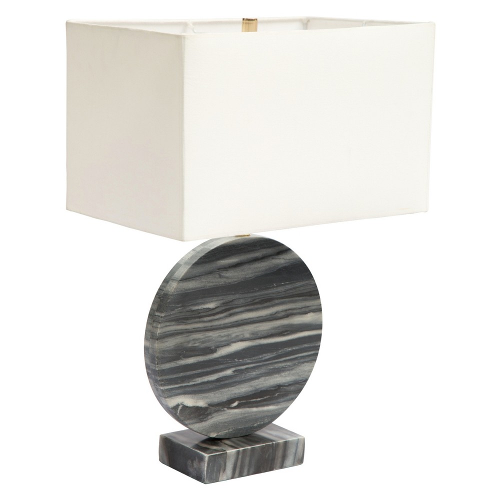 Table Lamp (Includes Energy Efficient Light Bulb) - ZM Home, White & Black