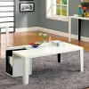 Simone Glossy Modern Coffee Table with Magazine Slot White - HOMES: Inside + Out - image 2 of 3