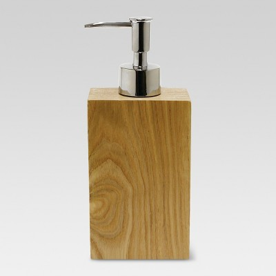 Ash Wood Soap Pump Brown - Threshold™