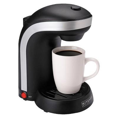 kitchen selectives singler serve coffee maker black target rh target com kitchen selectives coffee maker how to use kitchen selectives coffee maker 5 cup