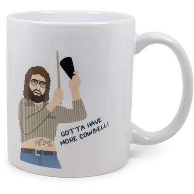 "Surreal Entertainment Saturday Night Live ""More Cowbell"" Ceramic Mug   Holds 11 Ounces"