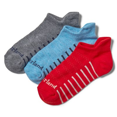 Timberland Men's 3-Pack Super No-Show Socks