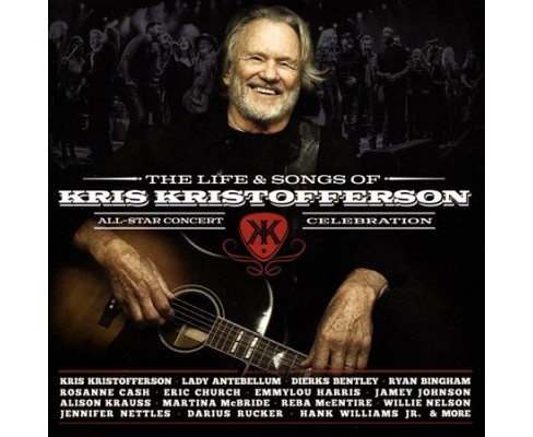 Various - Life & Songs Of Kris Kristofferson (CD) - image 1 of 1