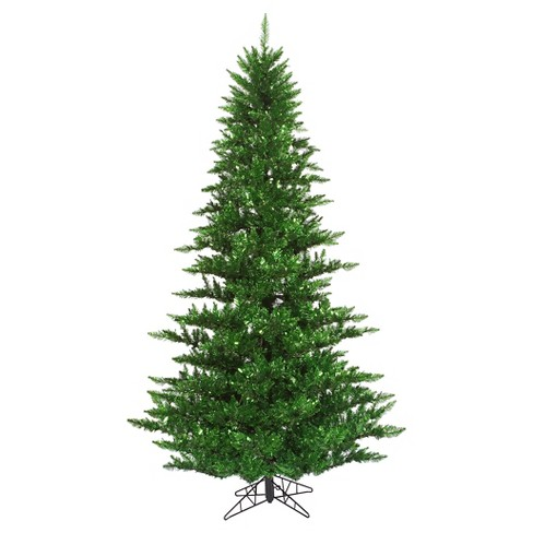 About this item - 3ft Un - Lit Artificial Christmas Tree Slim Tinsel... : Target