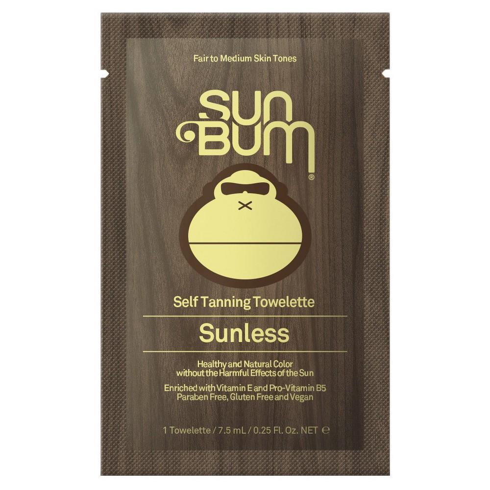 Sun Bum Sunless Self Tanning Towelette - 5pk, Brown