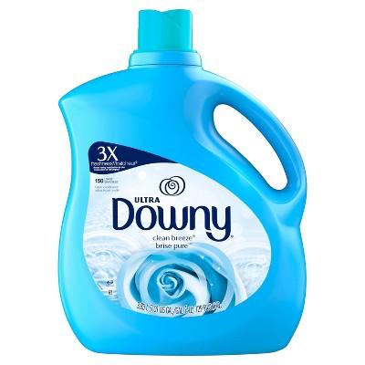Downy Ultra Clean Breeze Liquid Fabric Conditioner - 129 fl oz