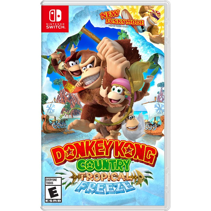 Donkey Kong Country: Tropical Freeze - Nintendo Switch - image 1 of 7