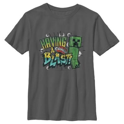 Boy's Minecraft Having a Blast T-Shirt