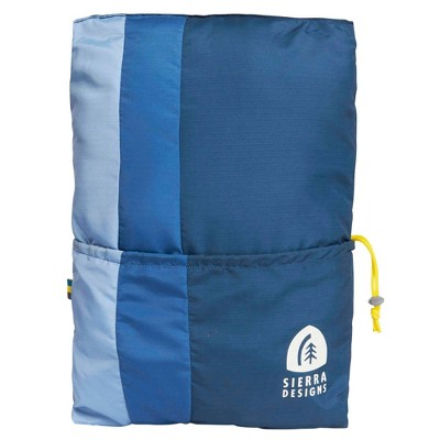 Sierra Designs Camp Pillow with Integrated Pouch - Blue