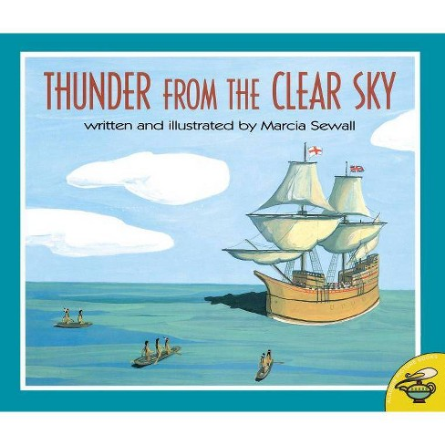 Thunder from the Clear Sky - by  Marcia Sewall (Paperback) - image 1 of 1