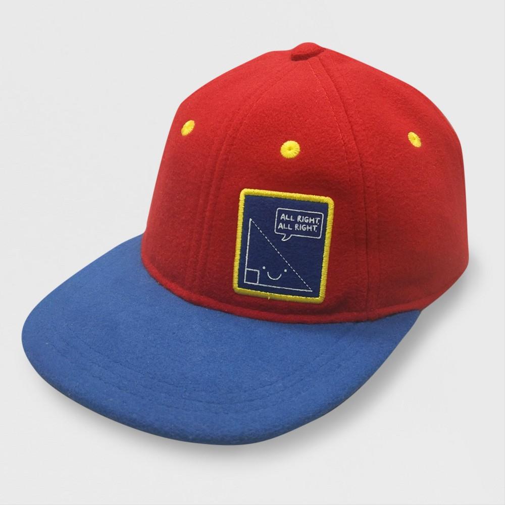 Baby Boys' Faux Felt Baseball Hat - Cat & Jack Red 12-24M