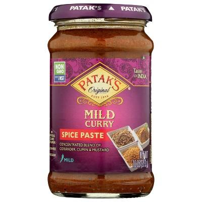 Patak's Original Concentrated Curry Paste Mild - 10oz