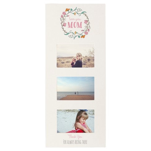 Mother's Day White Multi Photo Frame - image 1 of 6