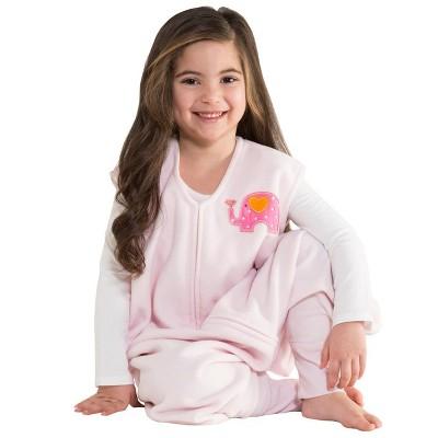 HALO SleepSack Big Kids' Wearable Blanket Micro-Fleece - Cream Dog Woof