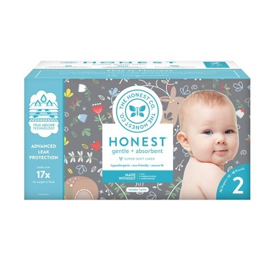 The Honest Company My Dear Disposable Diapers - Size 2 - 76ct
