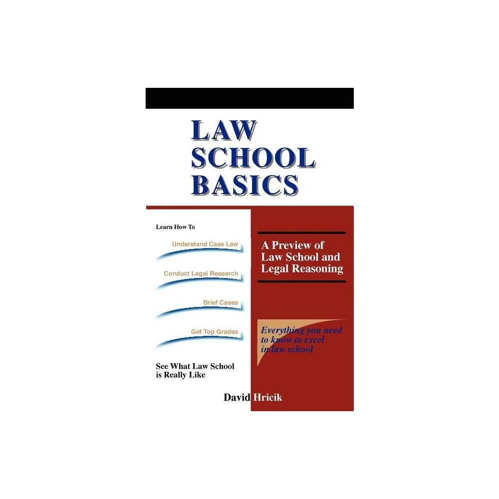 Law School Basics By David Hricik Paperback