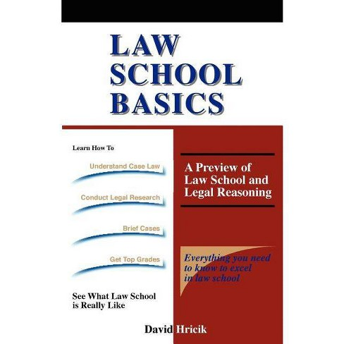 Law School Basics - by  David Hricik (Paperback) - image 1 of 1