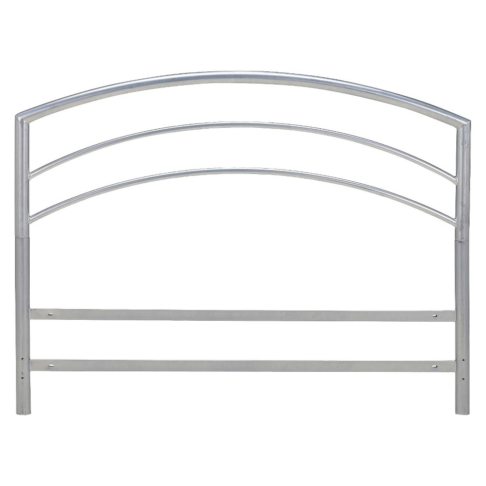 Image of Eco Dream Arch Headboard - Silver (King)