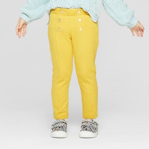 cf9d682d7 Toddler Girls' Sailor Pants - Genuine Kids® From OshKosh Yellow : Target