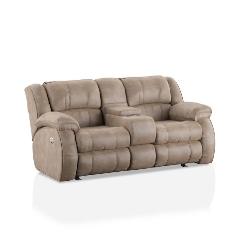 McCollum Upholstered Loveseat with Console Power Recliner - HOMES: Inside + Out - image 1 of 4