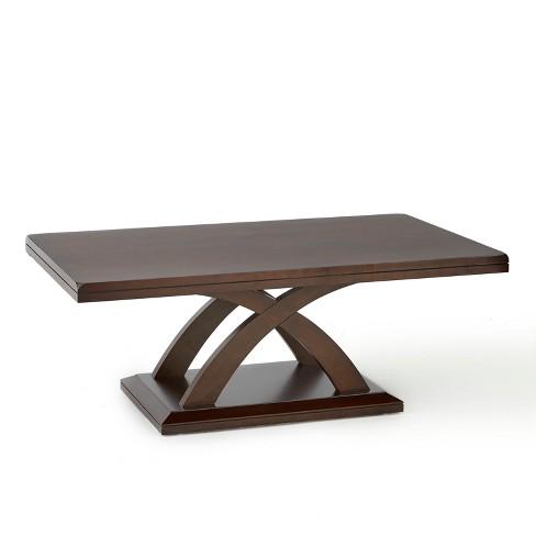 Prime Jocelyn Cocktail Table Espresso Cherry Steve Silver Download Free Architecture Designs Crovemadebymaigaardcom