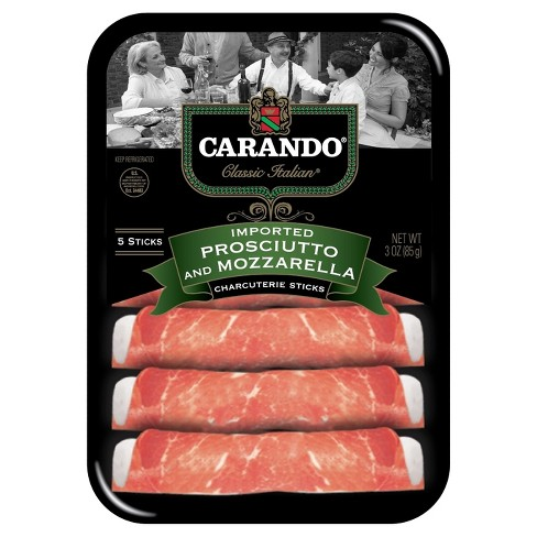 Carando® Imported Proscuitto & Mozzarella Sticks - 3oz - image 1 of 1