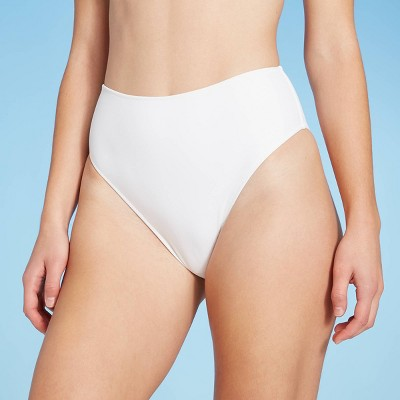 Women's High Leg High Waist Extra Cheeky Bikini Bottom - Shade & Shore™